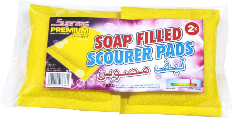 Soap Filled Scourer Pads