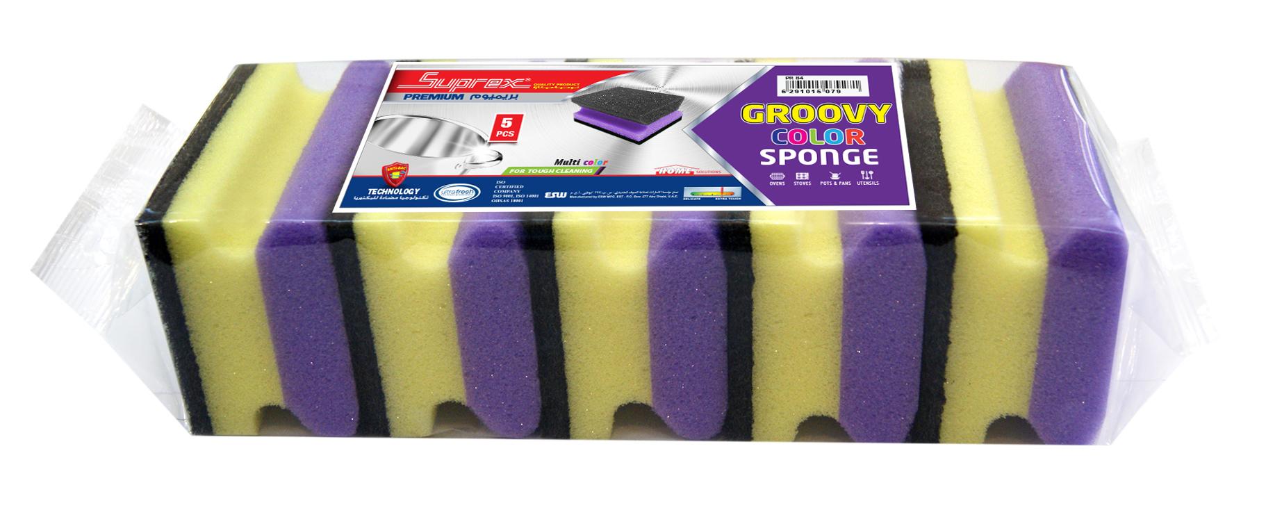 Groovy Color Sponge
