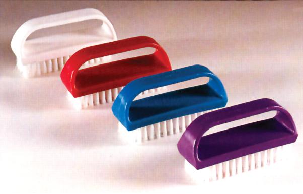 Nail Brush Plastic Polymid