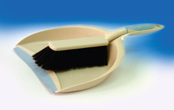 Dust Pan & Hand Brush (Soft)
