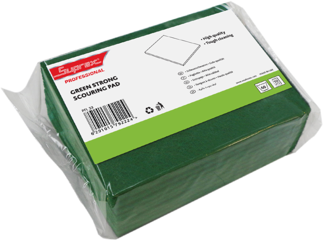 Green Strong Scouring Pad