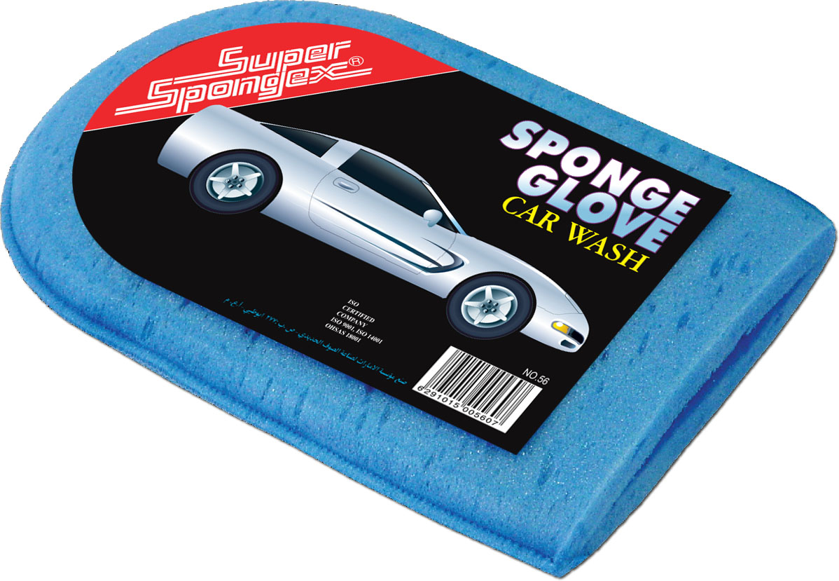 Car Wash Sponge Glove- High quality and soft car wash gloves