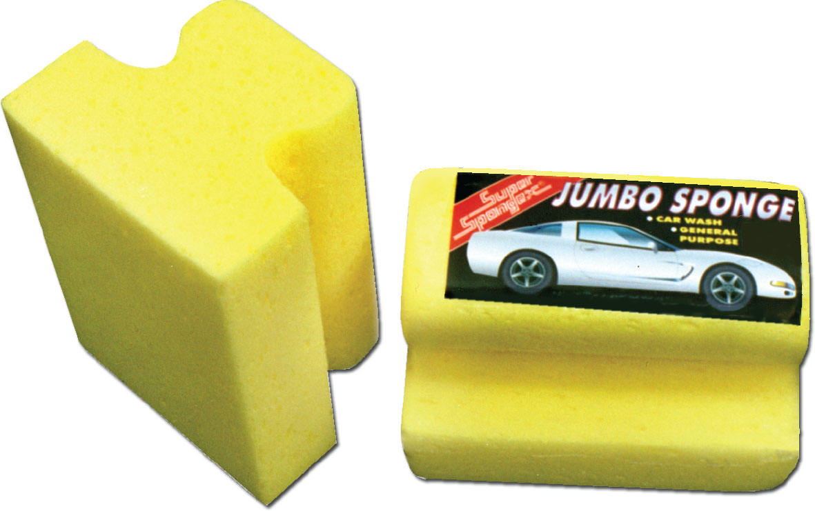 Easy Grip Jumbo Car Wash- Easy to use and maintainable car wash sponge