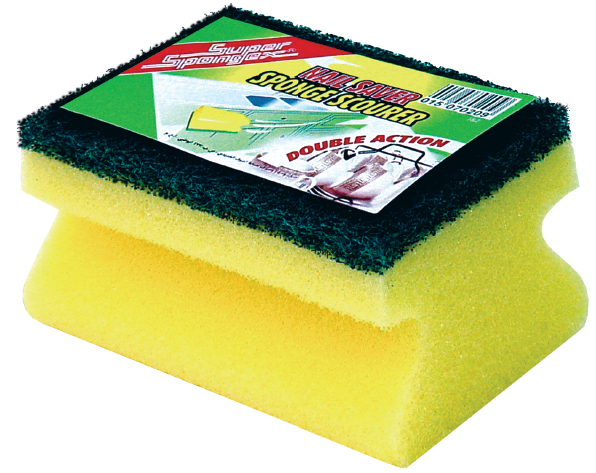 Grooved Sponge Scourers