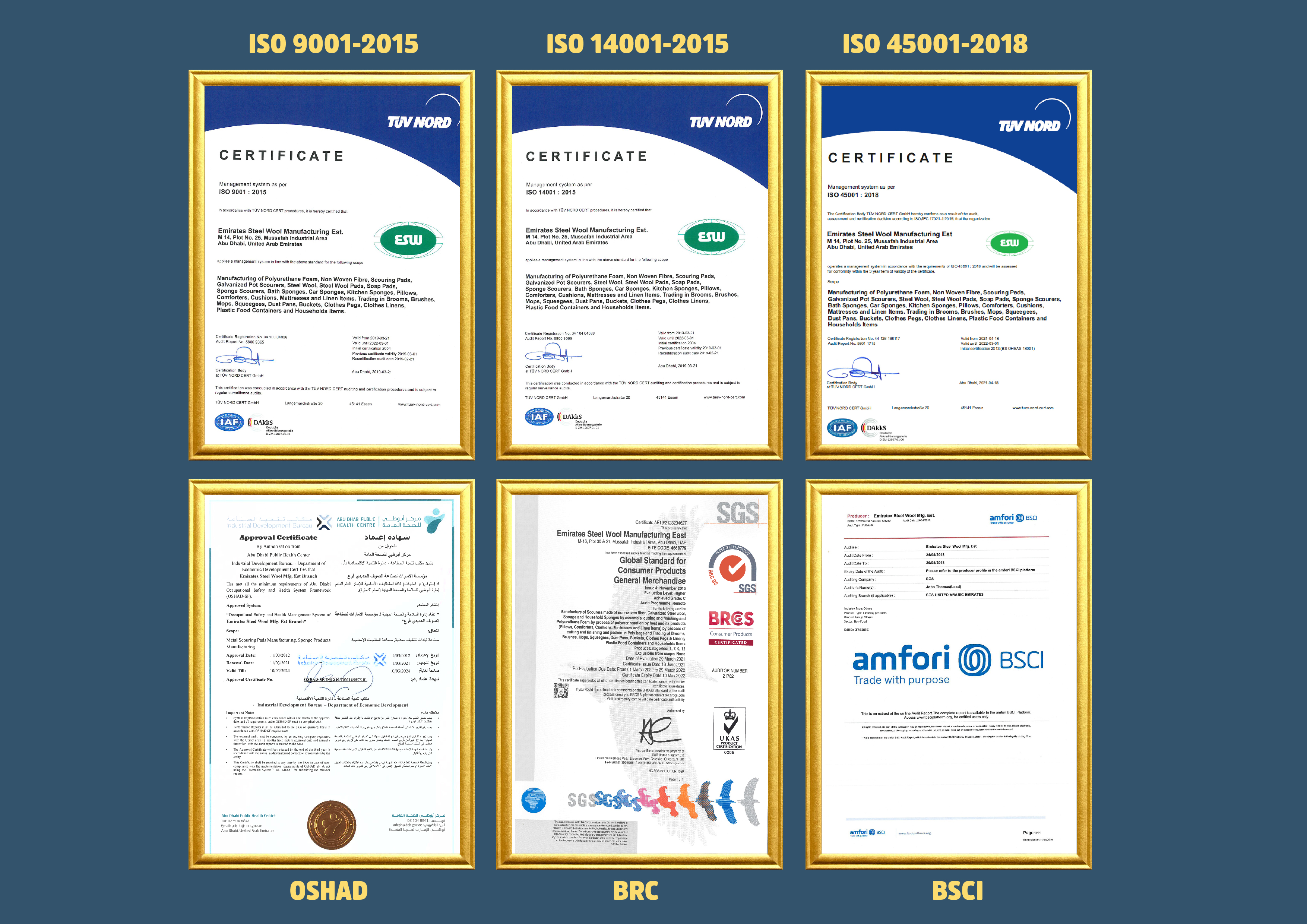 best household cleaning products manufacturer - 1628935123Certificate.jpg