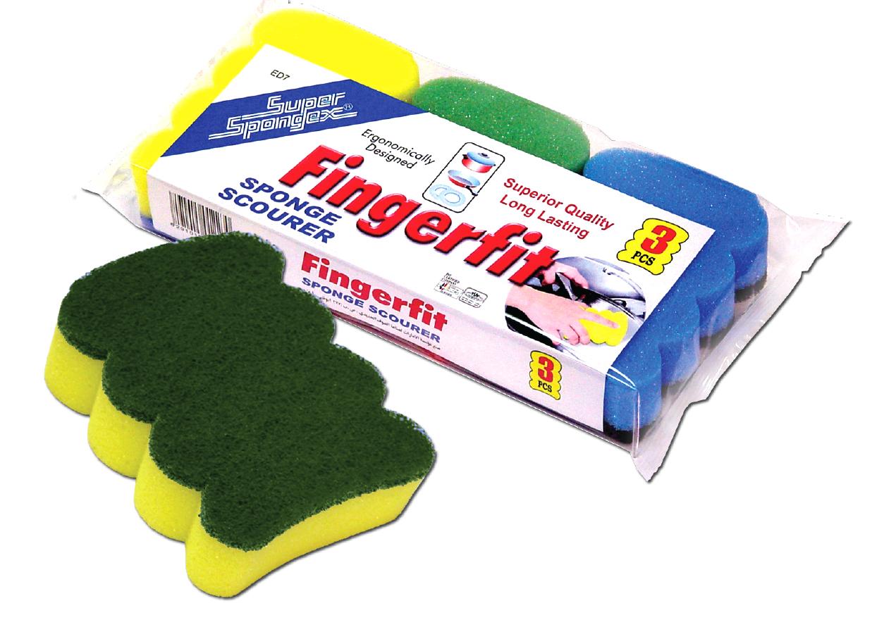 Fingerfit Sponge Scourer