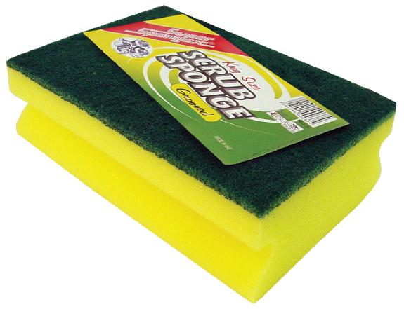Grooved Sponge Scourer (King Size)
