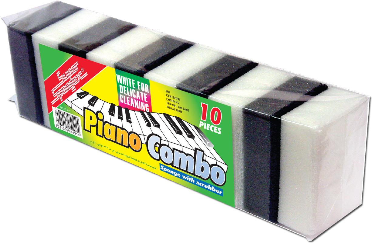 Sponge Scourer (Piano Combo)-Light weight sponge scourers