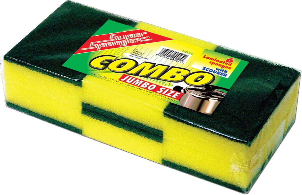 Combo Sponge Scourer (Jumbo Size)