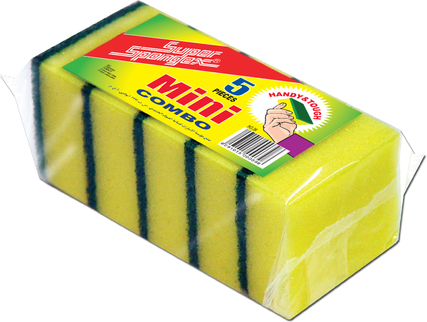 Mini Combo Sponge Scourer-high quality magic sponge scourers