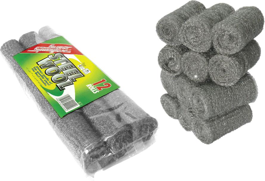 Stainless Steel Wool Rolls