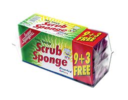Grooved Sponge 9 + 3 Free
