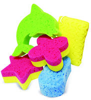 Fun Bath Sponges (Assorted)