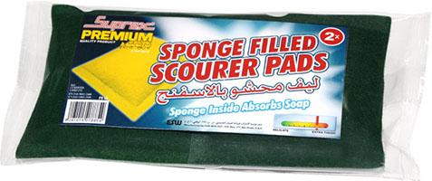 Sponge Filled Scourer Pads