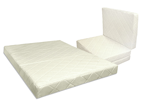 Satin Quilted Luxury Folding Mattress