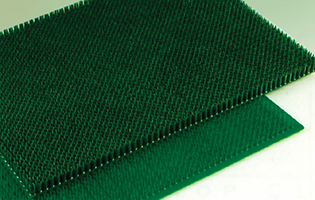 Door Mat Polygras Green Color