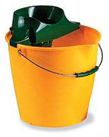 13 Ltr. Round Bucket + Wringer