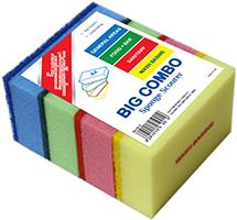 Big Combo Sponge Scourer