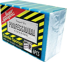 Professional Combo Sponge With Non Scratch Scourer