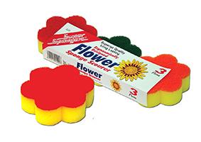 Flower Sponge Scourer