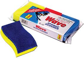 Wave Sponge Scourer