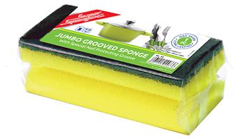 Grooved Sponge Scourer (Jumbo)