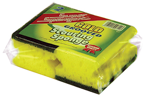 Grooved Sponge Scourer