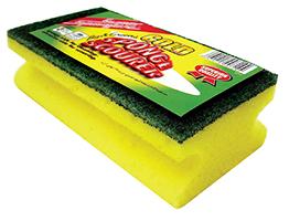 Big Grooved Sponge Scourer (Gold)