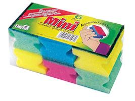 Mini Grooved Sponge Scourer