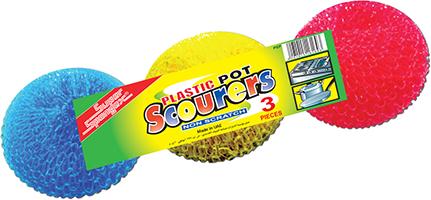 Plastic Pot Scourer