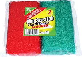 Plastic Sponge Scourer