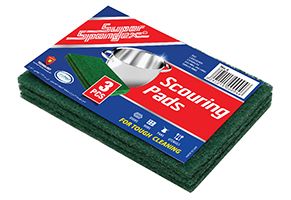 Scouring Pads-Green