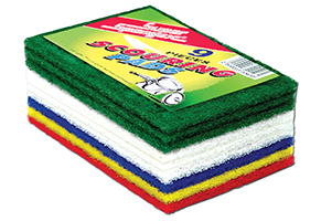 Scouring Pads-Multi Colour