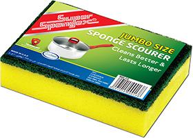 Combo Sponge Scourer (Jumbo)