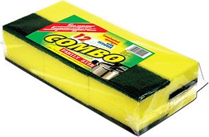 Combo Sponge Scourer (Family Size)